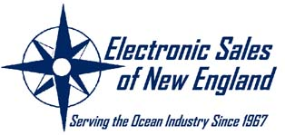 Electronic Sales of New England Log with Tag Line